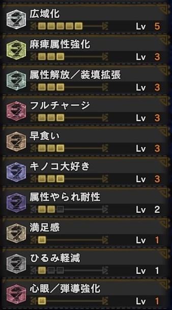モンスターハンター:ワールド_回復片手剣 スキル構成2.jpg